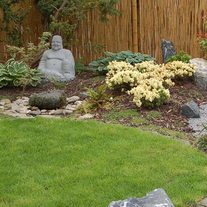 Japanische Gartengestaltung Bambus Und Granit Fur Haus Und Garten