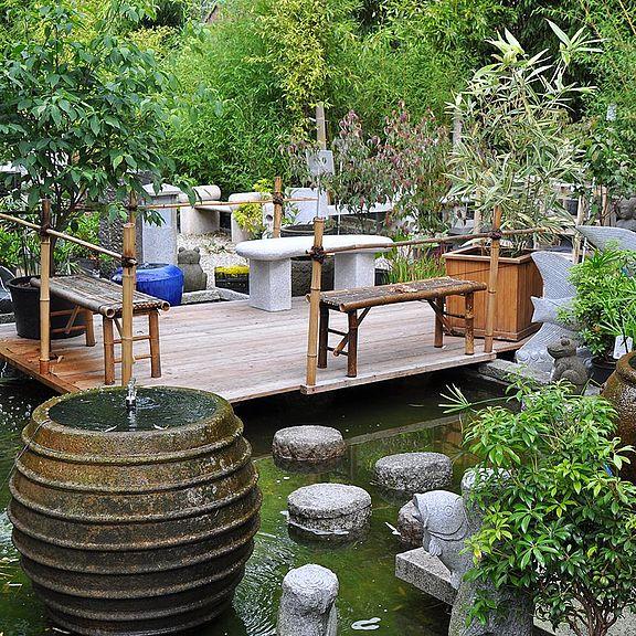 Bambus und Granit für Haus und Garten
