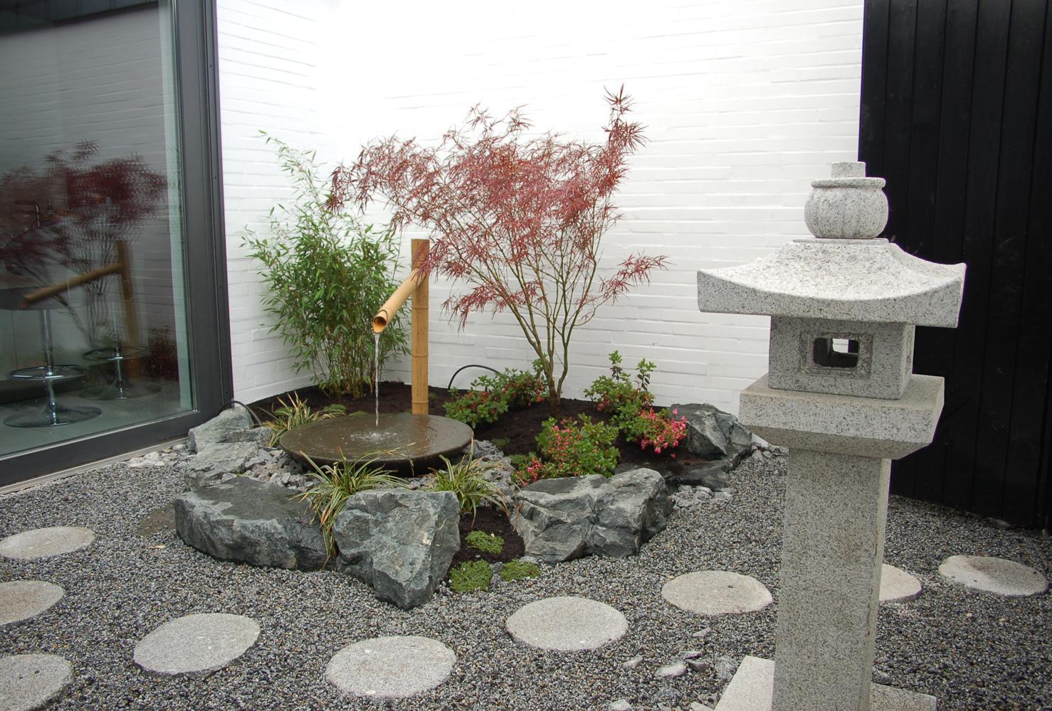 Japanisches Wasserspiel Selber Bauen Finest Tsukubai With