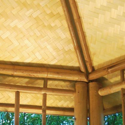 Bambus im au enbereich bambus und granit f r haus und garten - Bambus gartenhaus ...