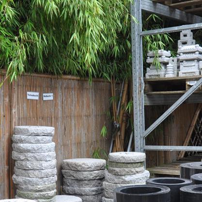 bambus im au enbereich bambus und granit f r haus und garten. Black Bedroom Furniture Sets. Home Design Ideas