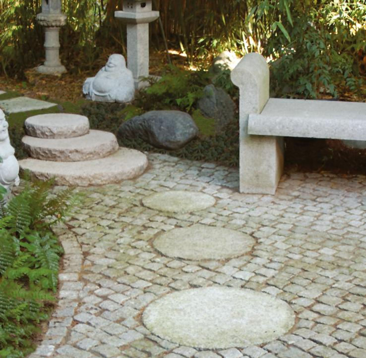 granitplatten garten, allgemeines über granitartikel | bambus und granit für haus und garten, Design ideen