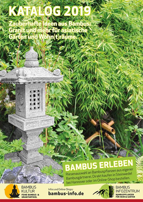 Katalogbestellung Bambus Und Granit Für Haus Und Garten